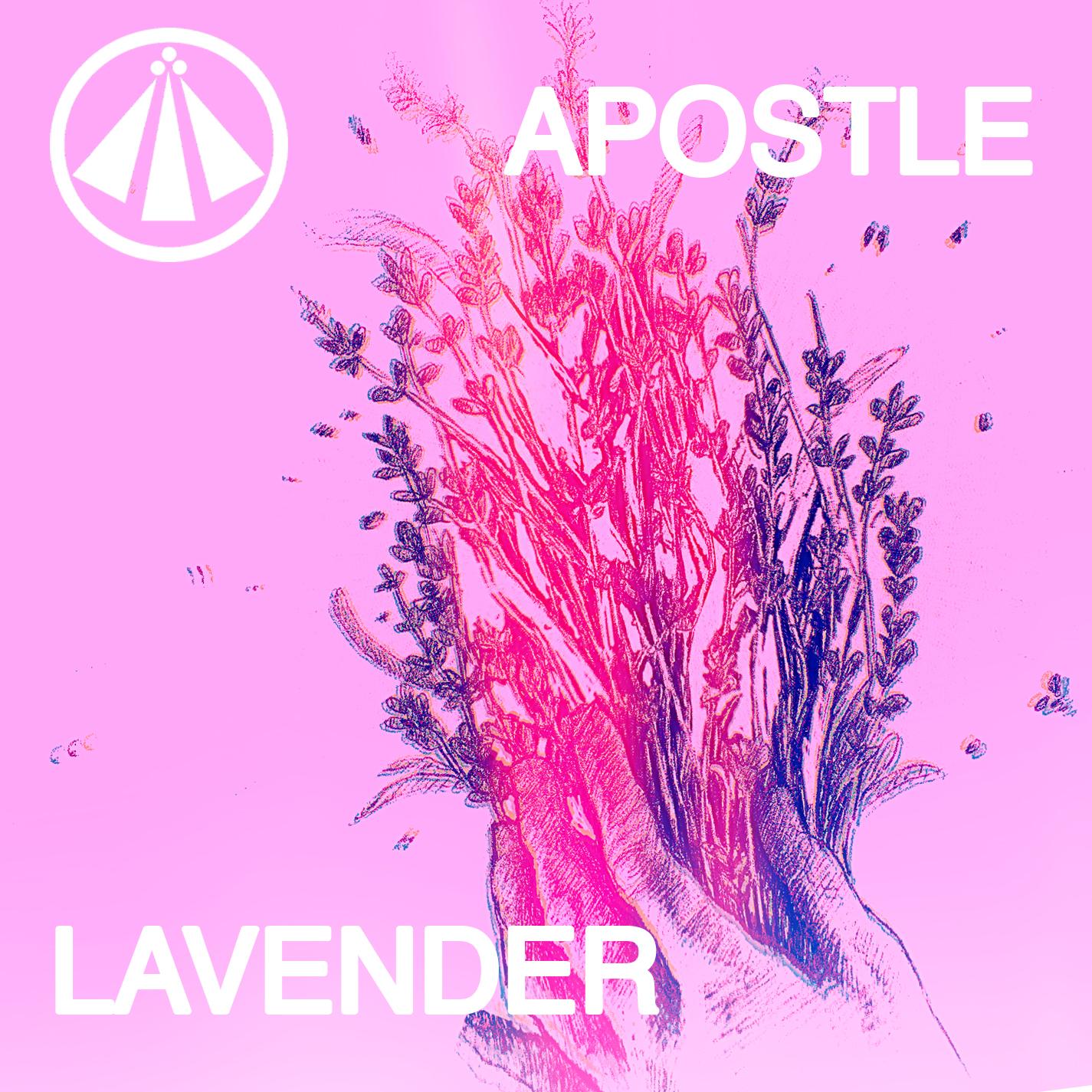 Apostle lavender art