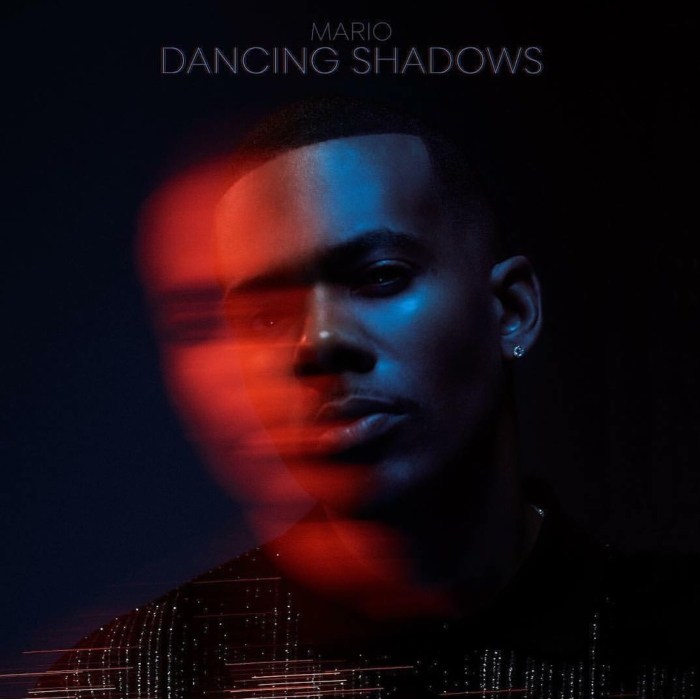 Mario dancing shadows album cover